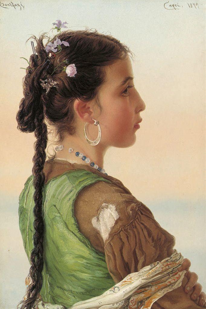 Adriano Bonifazi - A Capri Girl (682х1024)