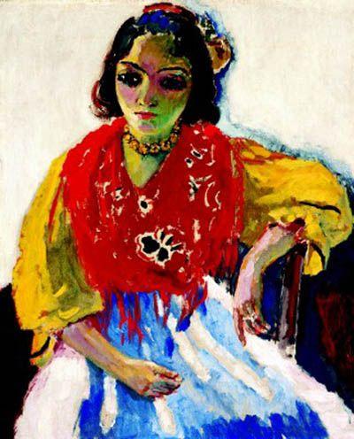 Art Kees van Dongen, Trinidad Fernandez 1907 - Les Fauves