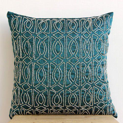 Luxury Royal Peacock Green Shams, Lattice Trellis Pillow ... https://www.amazon.com/dp/B00D9SN9TY/ref=cm_sw_r_pi_dp_x_N.Xiyb3CHMF6H