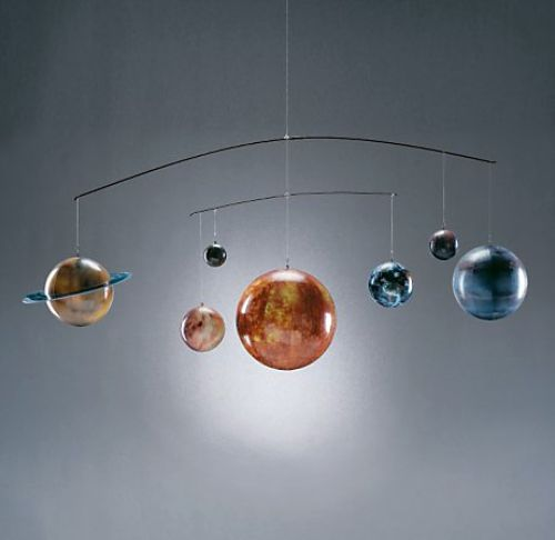 Planet Mobile - Noah has one similar to this hanging above his crib.