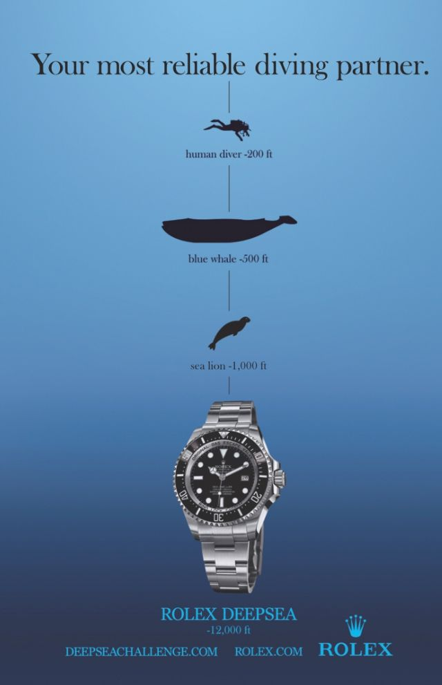 Deepsea Sea-Dweller Advertisement