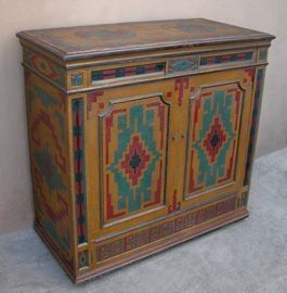 Soutwest Style Painted Furniture | Rituals Rustic Furniture, Lodge And  Ranch Style Specialists | The