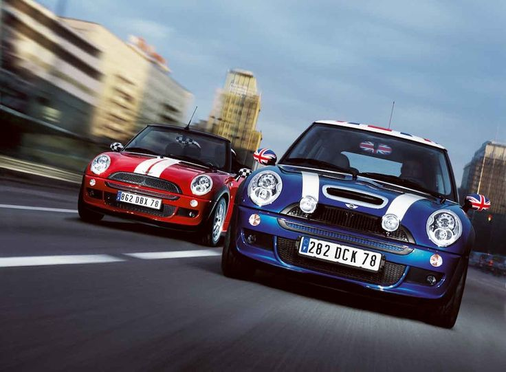 And the race is on. Who are you backing? Mini cars, Mini