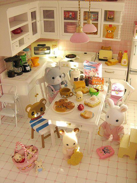 Kids having breakfast by Jemppu M, via Flickr