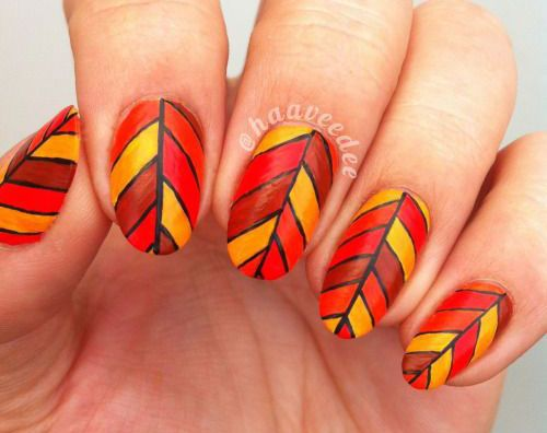 I am giving you a post of autumn leaf nail art designs & ideas of 2016 that  you must wear on your nails in the entire season of autumn. - 31 Best Autumn Leaf Nail Art Images On Pinterest Autumn Nails