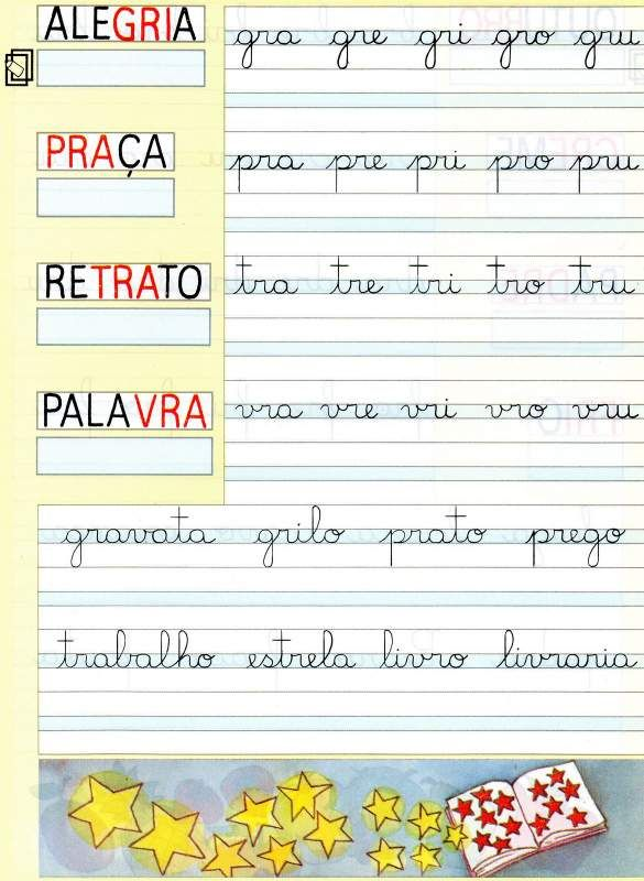 Exercícios de Caligrafia para Alfabetização. - Aprender e Brincar