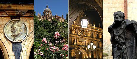 A Salamanca literaria en oito paradas. http://www.ocholeguas.com/2010/03/09/espana/1268155204.html