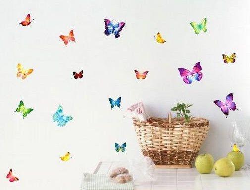 Economico 21 colorate farfalle wall art stickers da parete decalcomanie, Acquisti di Qualità Autoadesivi della parete direttamente da Fornitori 21 colorate farfalle wall art stickers da parete decalcomanie Cinesi.