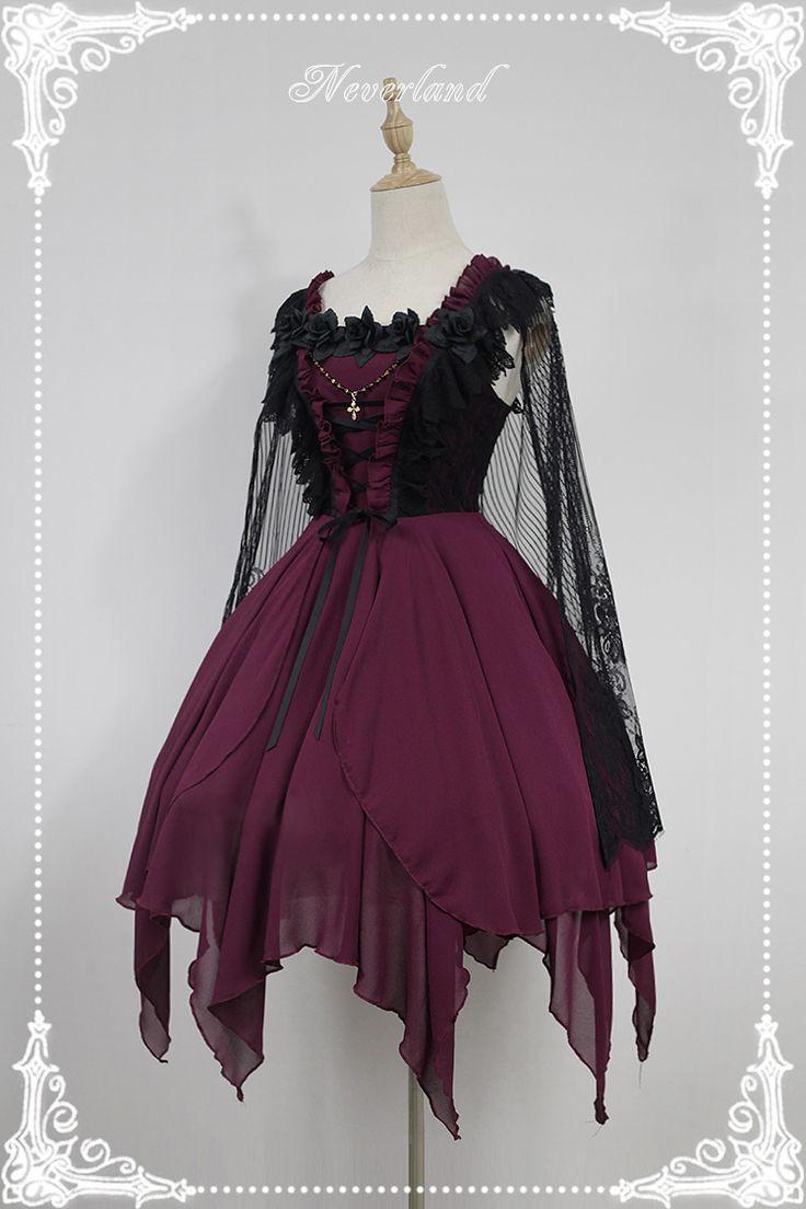 Neverland Lolita -The Revenant's Ballet- Gothic Lolita JSK