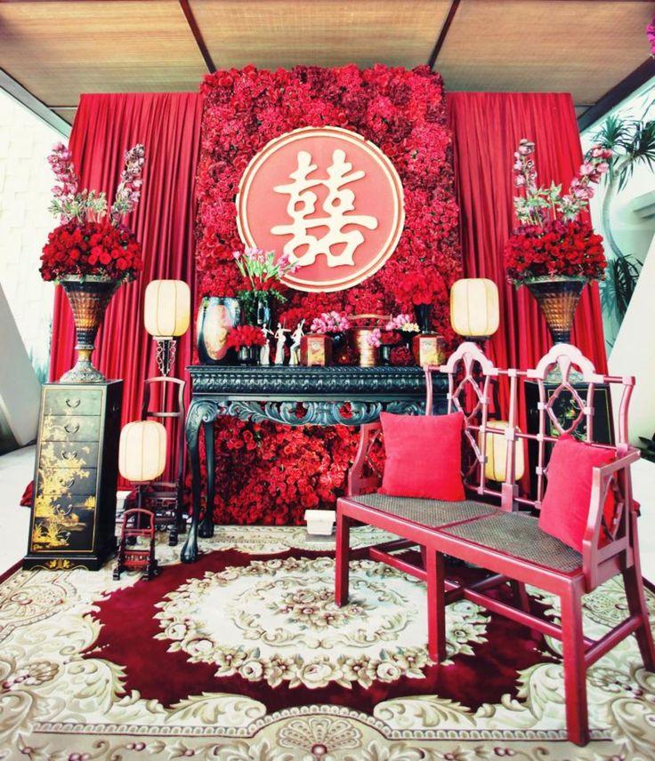 asian inspired wedding decor