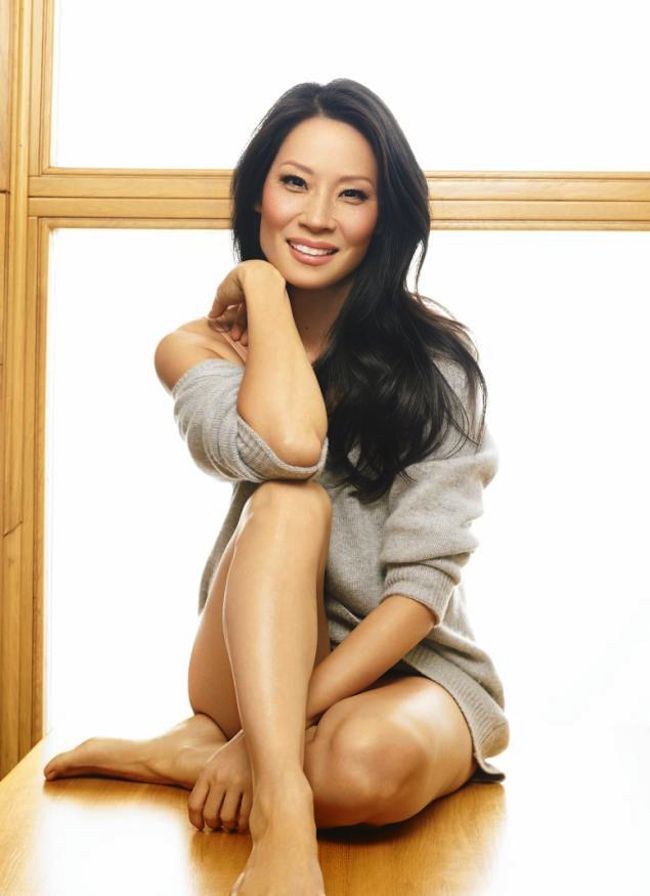 Lucy Liu - Inside March 2013 issue of Fitness