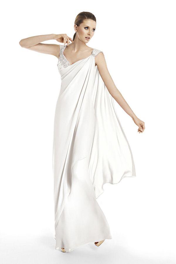 Vestidos de noiva de Pronovias para casamentos civis. #casamento #vestidodenoiva #noiva #Pronovias