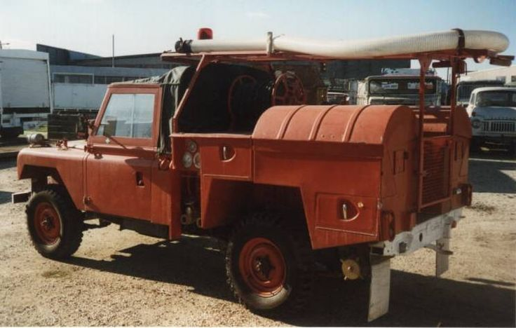 Series 2A Fire Tender -REMLR