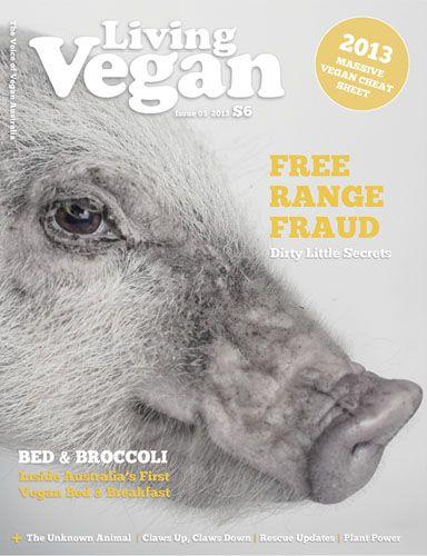 Living Vegan Magazine - Vegan News, Reviews, Interviews, Recipes, Events, Health & Fitness
