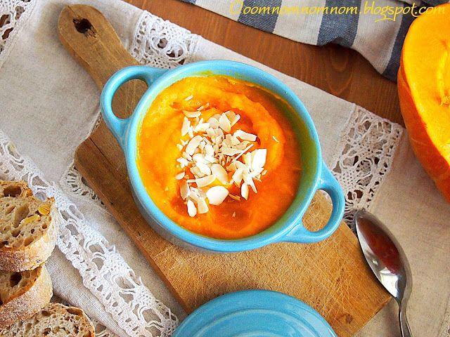 Ooomnomnomnom !: Zupa krem z dyni z nutką pomarańczy i imbiru