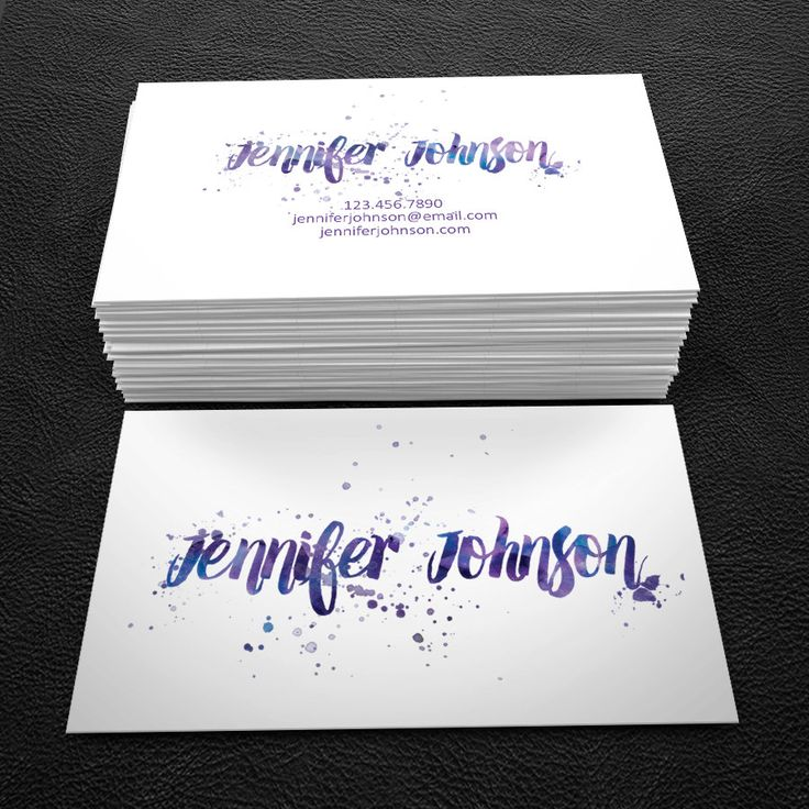 14 best business cards images on pinterest business card design really neat premade business card design print ready printable business card blue and reheart Images