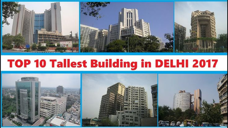 Top 10 Tallest Building in Delhi 2017 This list of tallest buildings in Delhi ranks buildings by height in the Indian city of Delhi the capital and the largest metropolis of India. There are 2800 existing high-rises in the NCR and many more are under construction Tallest buildings in New Delhi Here you see the 20 tallest buildings of New Delhi. This list only regards multi-story buildings. # Building City Floors Height Year 1 Civic Center New Delhi 28 101 m 2010 2 Hansalaya New Delhi 21 88 m…