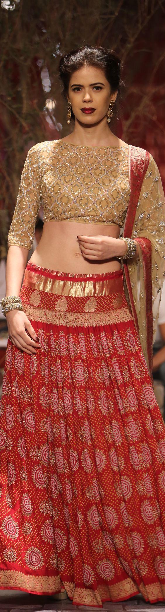 By designer Monisha Jaisingh. Bridelan- Personal shopper & style consultants for Indian/NRI weddings, website www.bridelan.com #Bridelan #weddinglehenga #MonishaJaiSingh #MonishaJaiSinghweddingLehenga