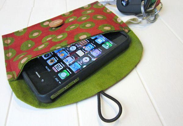 Chaveiro porta-treco é lindo e funcional (Foto: sew4home.com)