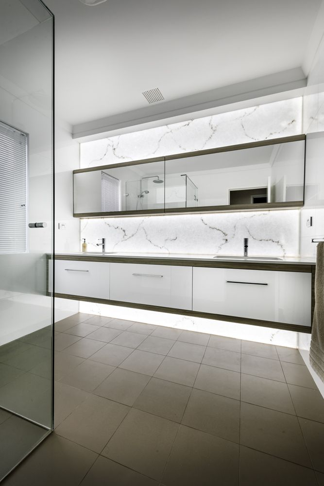 Wow - thats a luxury bathroom fit out! Western cabinets Perth Western Australia  bathrooms designs
