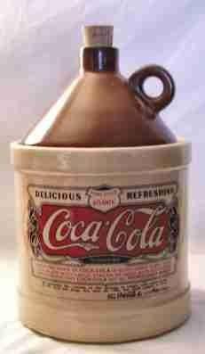 Coca-Cola Jug Cookie Jar