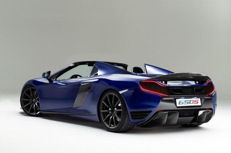 0 to 60 2.9 sec. McLaren 650S