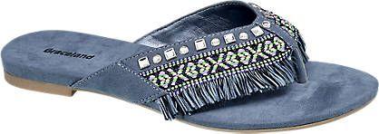 Zehentrenner von Graceland in jeans - deichmann.com