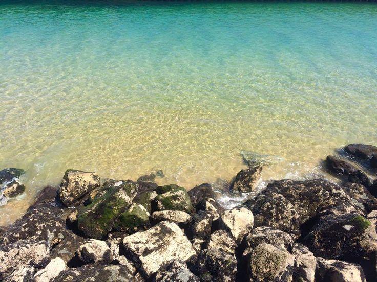 #Capbreton #Capbretondestination #Rochers #Rocks #Eau #Eauclaire #Water #Chrystaclear