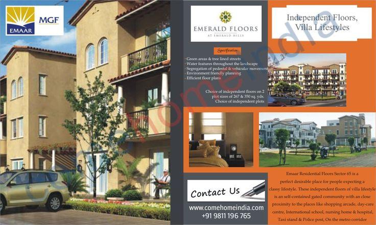 Emaar group present a luxury residential project emaar mgf