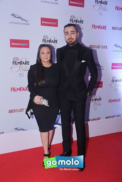 Avantika Malik & Imran Khan at Filmfare Glamour & Style Awards 2015 in Mumbai