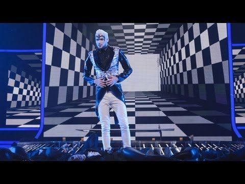 Rylan Clark sings Toxic/Horny/Poison Medley - Live Week 4 - The X Factor UK 2012