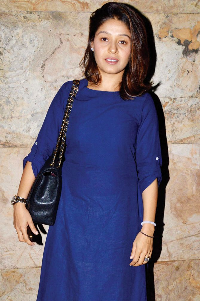 Sunidhi Chauhan at a #Wazir screening. #Bollywood #Fashion #Style #Beauty #Hot