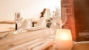 Feedback Food & Wine in Den Haag is een gezellig en leuk restaurant! Reserveer nu via BookDinners en profiteer nu van 30% korting op een 3-gangen keuzemenu.