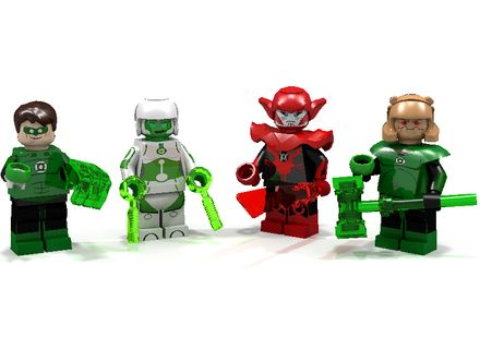 LEGO Ideas - Green Lantern Interceptor (The animated Series)