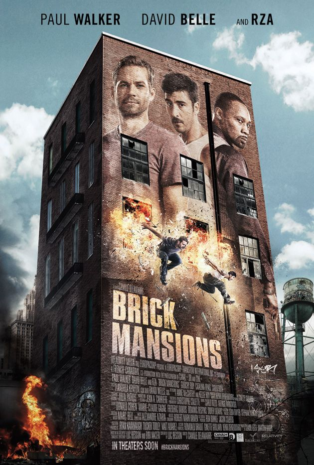 """Trailer and Movie Poster Release for Paul Walkers last completed film """"Brick Mansions"""""""