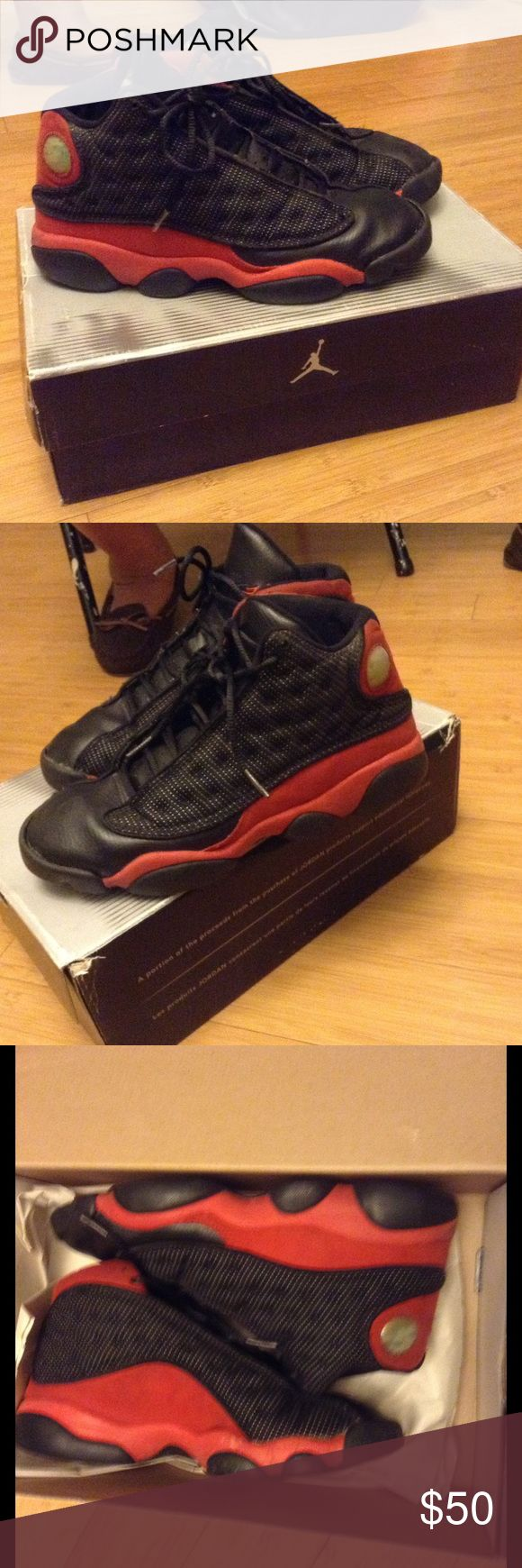 Jordan Retro 13 All damage displayed Jordan Shoes Sneakers