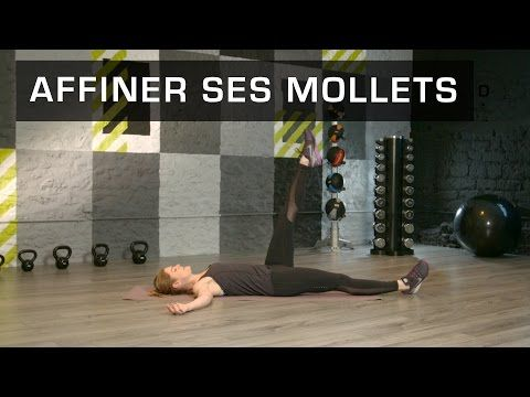 Fitness Master Class - Affiner ses mollets - Lucile Woodward - YouTube