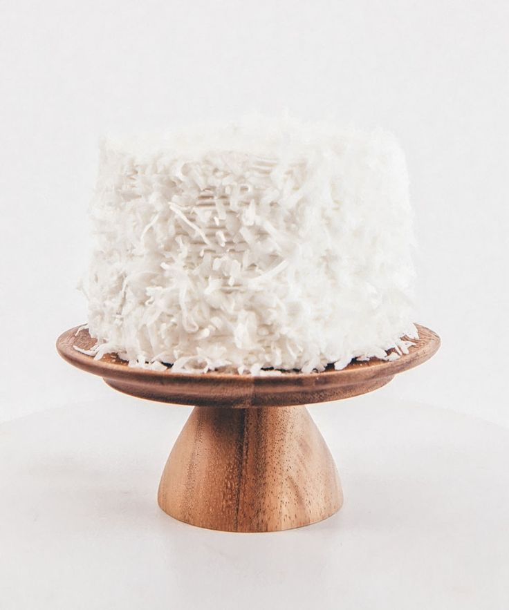 Wooden Mini Cake Stand
