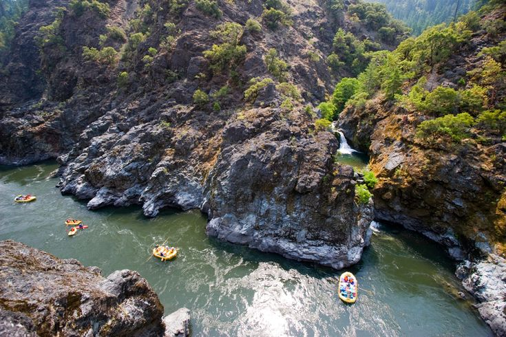 World Class River Views: Stair Creek Falls from the Rogue River Trail | Photo: TL Barbutes