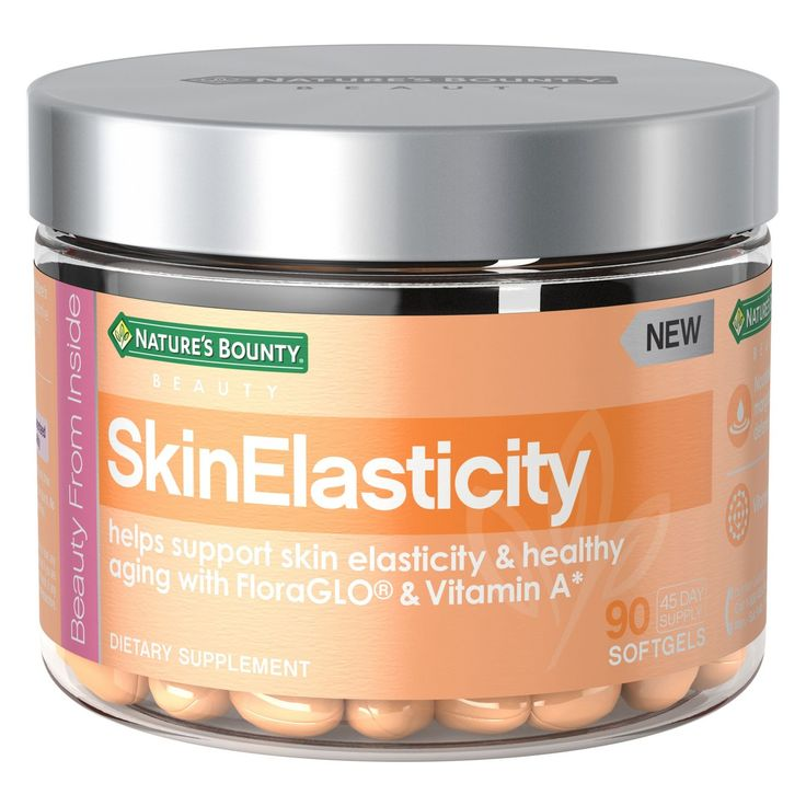 Nature's Bounty Skin Elasticity Multivitamin Softgels ...