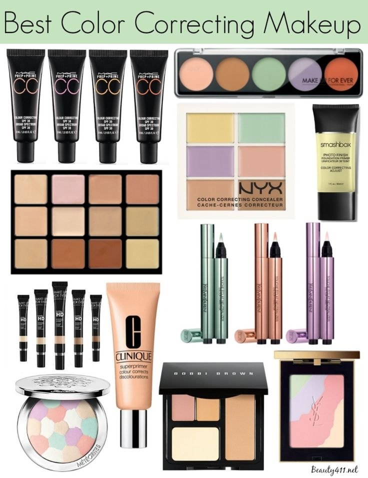 PINTEREST @STYLEXPERT Color Correcting Makeup – Beauty411