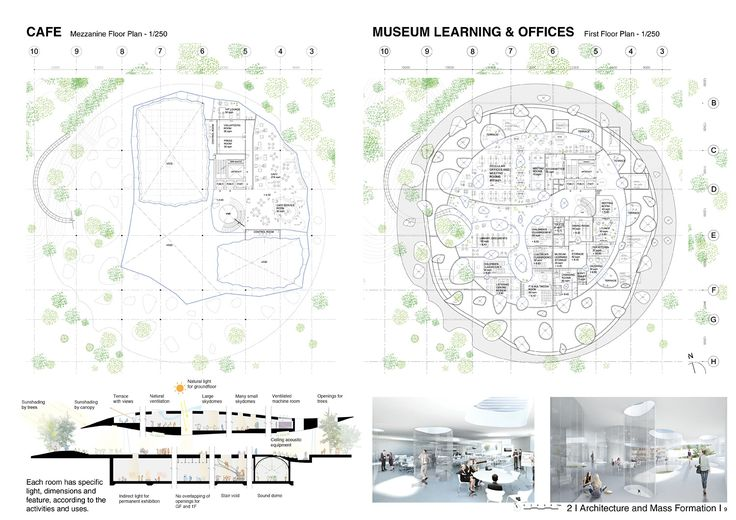 Sou Fujimoto among winners for Liget Budapest museum competition House of Hungarian Music: Sou Fujimoto Architects