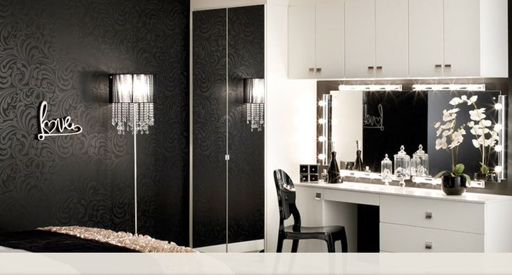 black white and silver dressing room | Cheap White Bedroom Furniture | Cheap White Bedroom Furniture Sets ...
