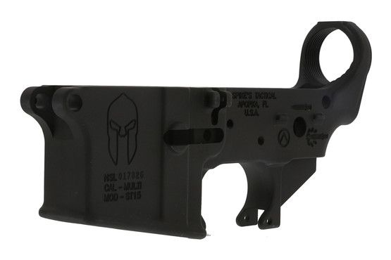 Spike's Tactical Lower (Multi) Forged Spartan Stripped