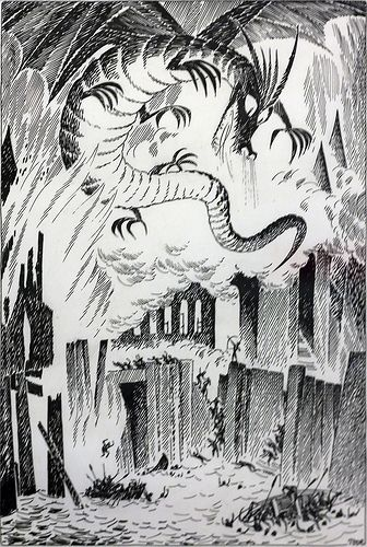 Tove Jansson's illustrations for the finnish edition of The Hobbit. In an…