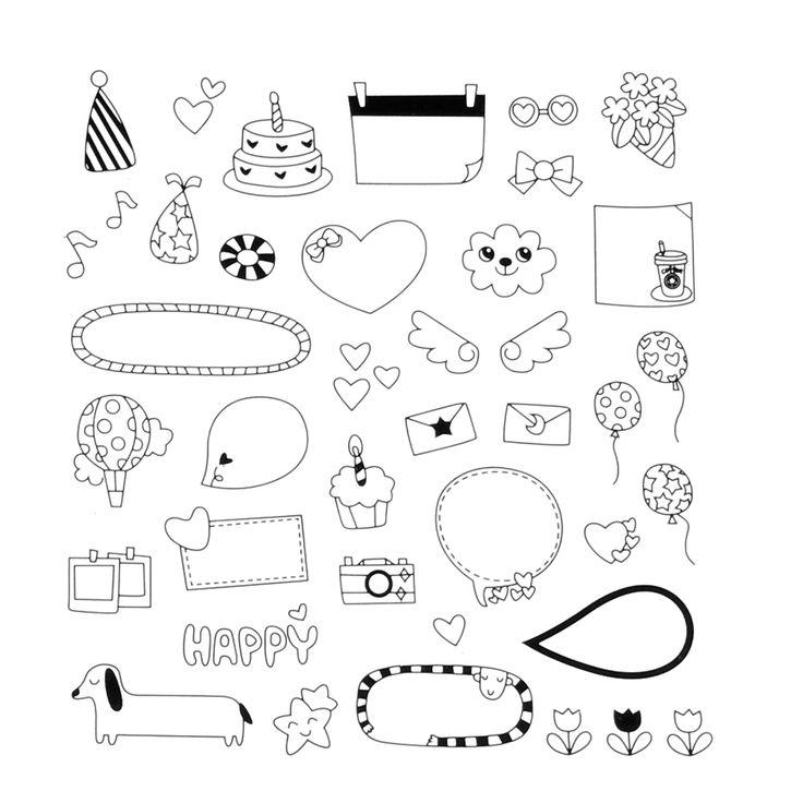 Новые милые прекрасные 6 лист бумаги наклейки для дневник записки календарь фоторамка декор книга, открытки ремесла купить на AliExpress
