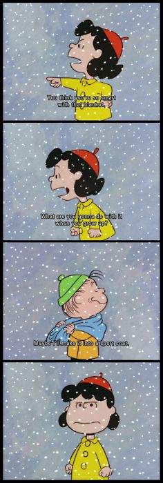 Lucy and Linus, A Charlie Brown Christmas (1965)