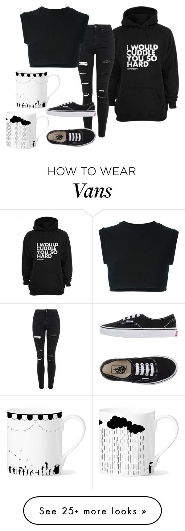 """""""Is it just me or does anyone else really like mugs?"""" by valmay on Polyvore featuring Topshop, adidas Originals, Vans, Eleanor Stuart, women's clothing, women's fashion, women, female, woman and misses"""
