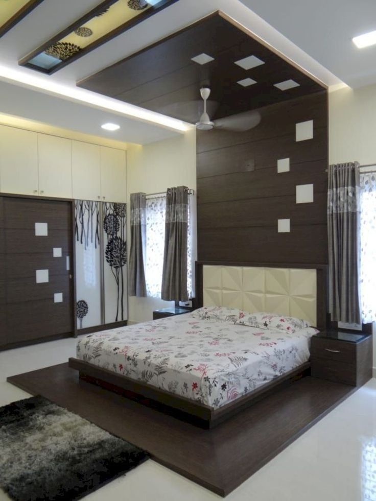 Incredible Modern Bedroom Design Ideas To See More Visit In 2020 Ceiling Design Bedroom Bedroom False Ceiling Design Modern Bedroom Design