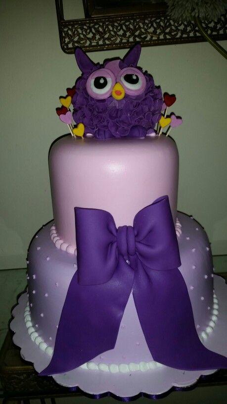 Pastel cumpleaños tema fúrbis